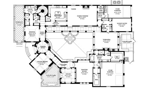 spanish revival house plans spanish colonial revival house plans style house plans