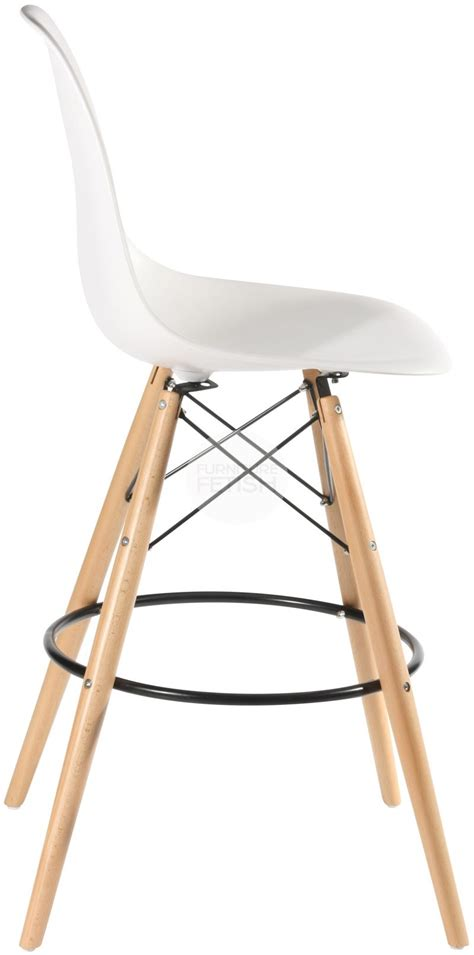 eames stuhl replika dsw eames stool replica bench stool timber legs white