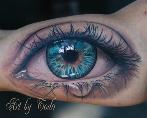 tattoo of an eye tattoos by todo