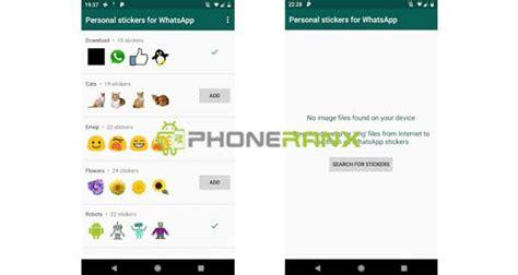 membuat sticker whatsapp  android mudah cepat