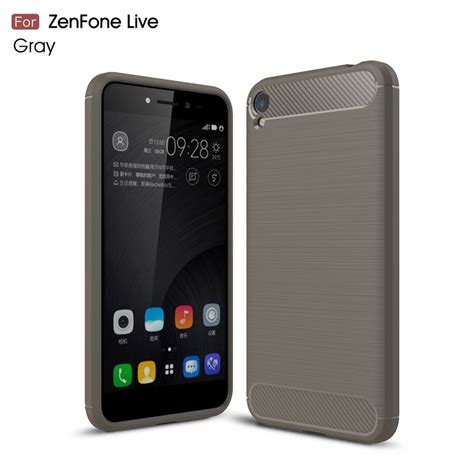 Asus Zenfone Live Zb501kl Ipaky Carbon husa asus zenfone live zb501kl cubz series carbon grey