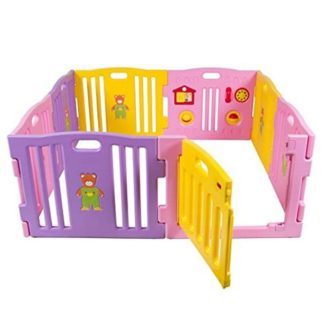 play pen new childrens best choice products 174 baby playpen kids 8 panel safety play center yard home indoor outdoor new