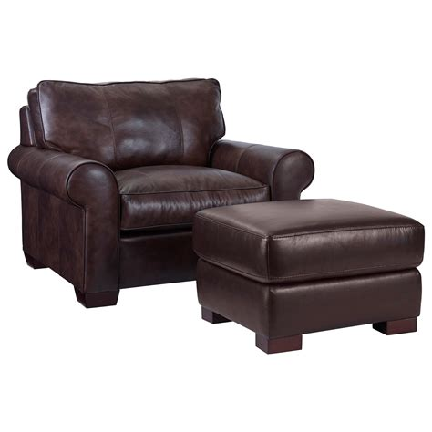 1 1 2 chair and ottoman broyhill furniture isadore casual chair 1 2 and ottoman