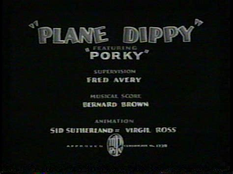 Bros H 14 supervised by fred avery tex avery s warner brothers