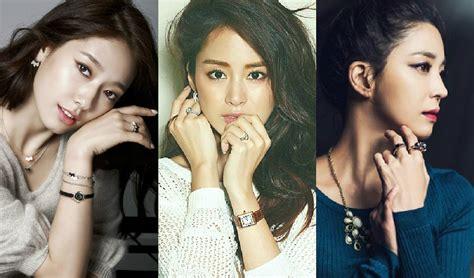 list of korean actress natural beauty netizens pick top 30 most beautiful faces among korean