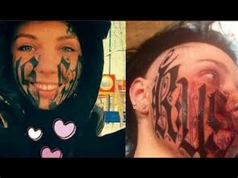tattoo hot day after disaster face tattoo after first date youtube
