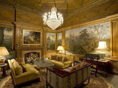 gold walls living room 36 living rooms that are richly furnished decorated