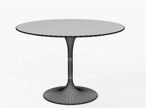 eero dining oval 3d model saarinen dining table 42 free 3d model max obj 3ds fbx dwg cgtrader