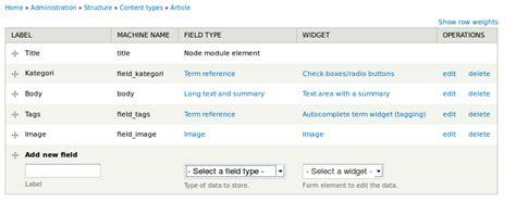 membuat link kategori membuat menu dan kategori sendiri di drupal