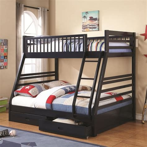 bunk bed ladder with drawers bunk bed with 2 drawers and attached ladder