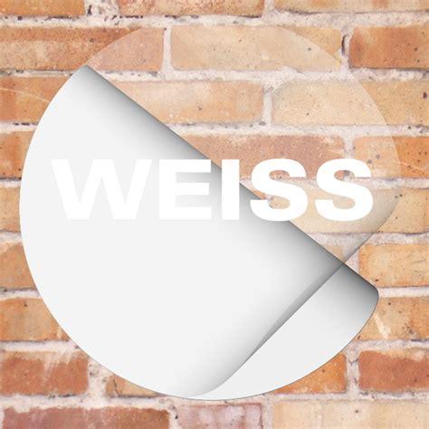 Aufkleber Transparent Bedrucken by Wei 223 Auf Transparente Aufkleber Drucken Schrift Und