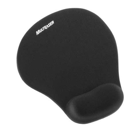 Mouse Pad 1 Juta mouse pad c apoio gel pequeno ac021 multilaser port inform 225 tica papelaria materiais de