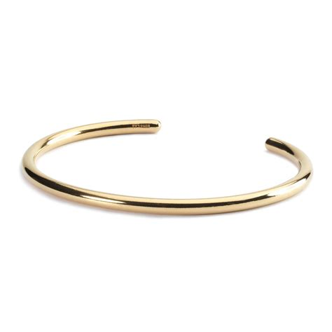 Bangle Gold Plated by Trollbeads Gold Plated Bangle Trollbeads