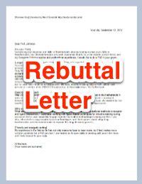 rebuttal letter template letters for graduate school next scientist