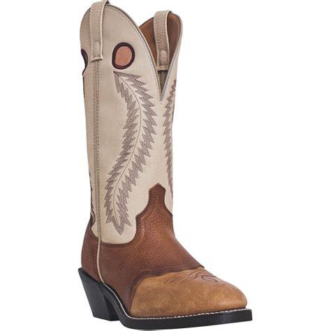 mens laredo cowboy boots laredo mens leather knoxville 13in u toe buckaroo