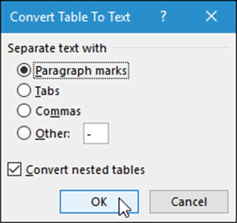 Convert Table To Text by How To A Numbered Or Bulleted List In Microsoft Word