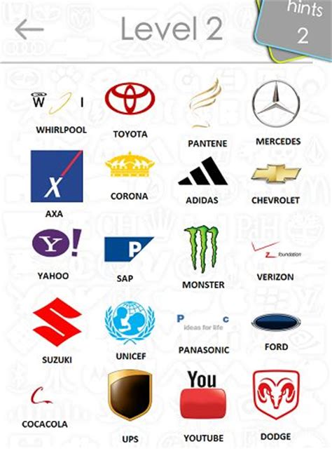 Auto Logos Quiz 2 0 Level 24 by 24 Best Images About Logo Quiz On Pinterest Level 3