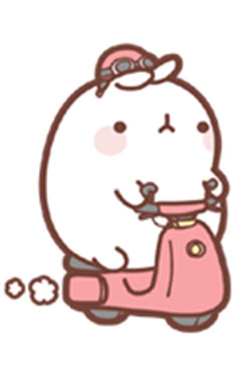 molang cartoon rabbit qq emoticons emoji   chinese font