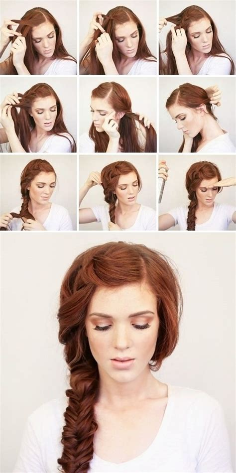 tutorial hair design 16 side braid hairstyles pretty long hair ideas styles
