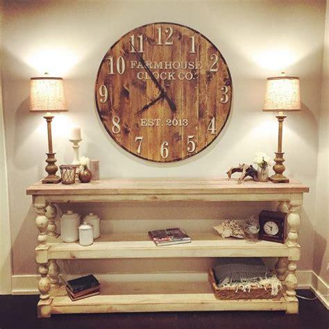 extra large farmhouse 25 best ideas about farmhouse clocks on pinterest cute