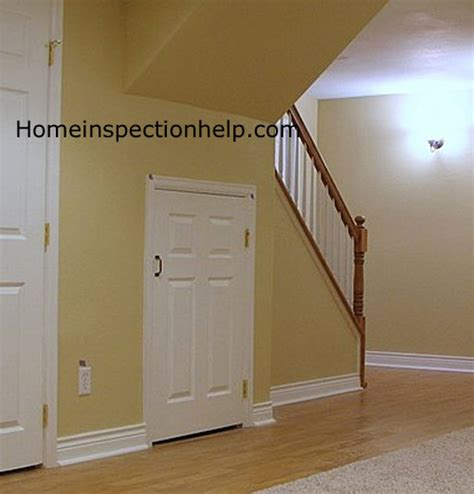 Home Office Interior Design Tips by Short Door Under Stairs