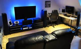 Gaming Room Setup Gaming Setup On Pinterest Gaming Computer Gaming Rooms