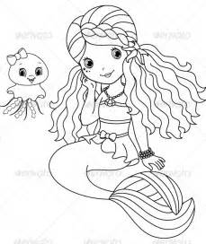 mermaid 187 page 0 coloring books download