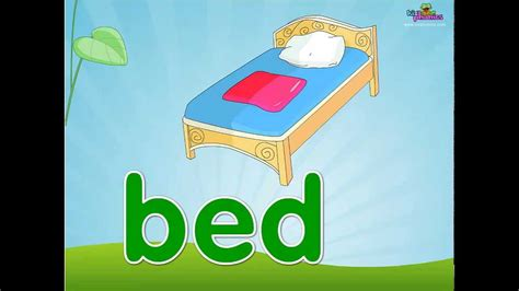 words ending in bed word families ed en est phonics lesson youtube