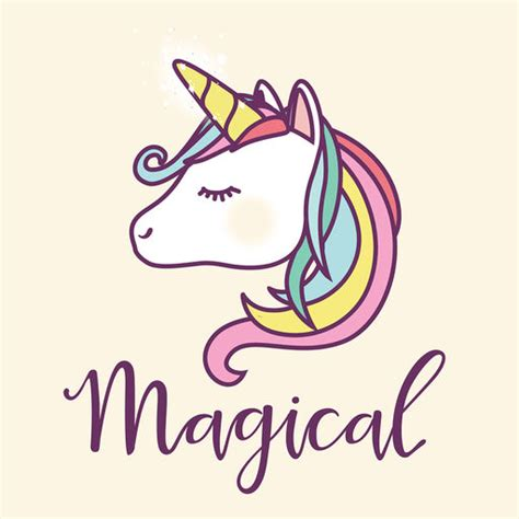 Unicorn Pastel pastel unicorn words stickers by appbubbly