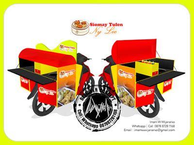 desain gerobak siomay desain dan produksi gerobak desain gerobak motor siomay