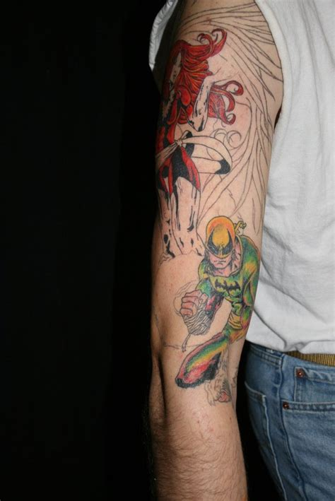 iron fist tattoo iron and by meghanbeth on deviantart