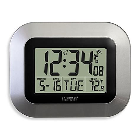 bed bath beyond clocks buy atomic clocks from bed bath beyond