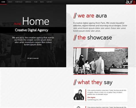 split layout wordpress 8 innovative split screen layout wordpress themes