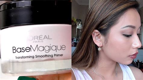 L Oreal Base Magique l oreal base magique primer impressions review