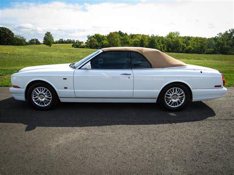 bentley azure white 1999 bentley azure convertible 151403