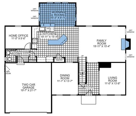 savoy floor plan ryan homes savoy model floor plan home decor