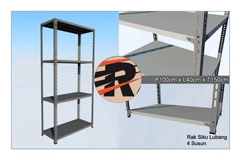 Rak Besi Per Meter rak besi siku lubang ukuran 40 cm baru www rajarakminimarket