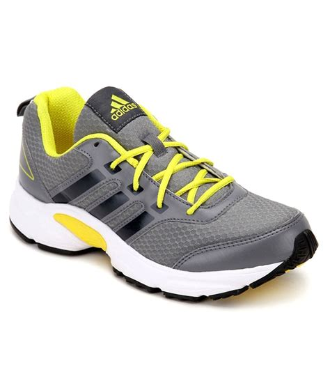 shoes for with price adidas ermis m grey and yellow sports shoes price in india