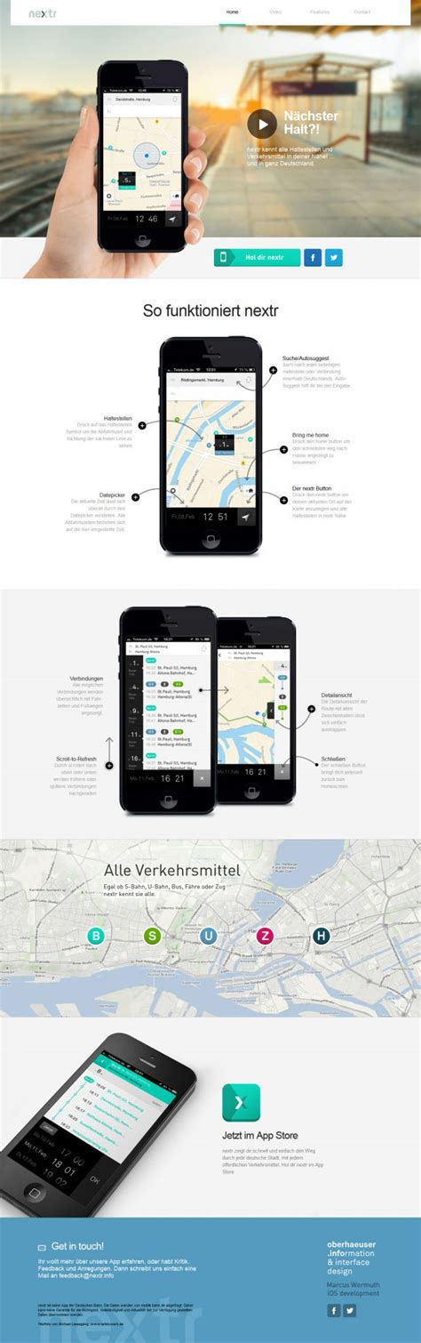 design inspiration mobile website nextr mobile app webdesign inspiration www niceoneilike com