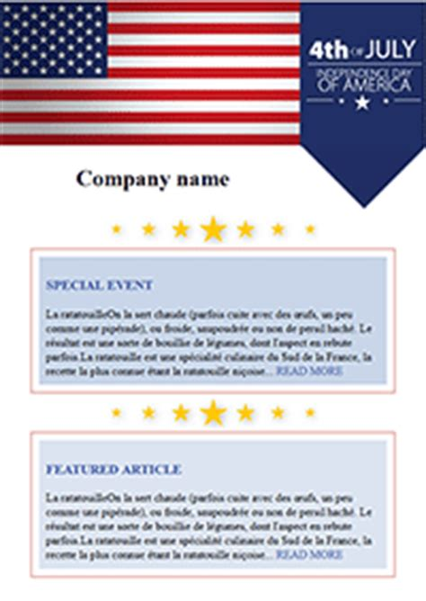 Happy 4th Of July Tips To Enjoy Fun Happy And Safe Summer Email Marketing Happy 4th Of July Email Template