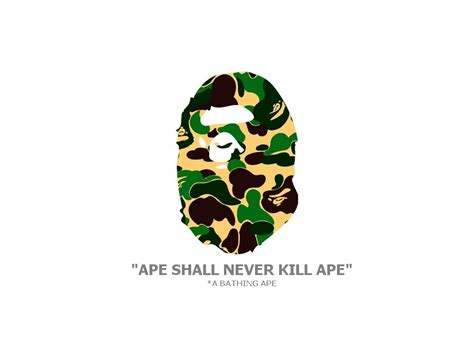 Bape Big Logo By Bathing Ape Camo bathing ape wallpaper wallpapersafari
