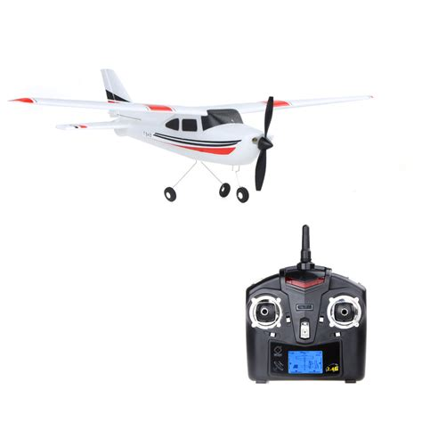 Rc Plane Cessna182 Wltoys F949 wltoys f949 rc airplane cessna 182 2 4g remote toys 3ch rc fixed wing plane electric