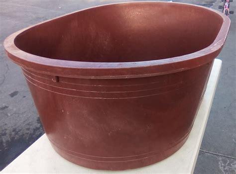 tinas de plastico tina de plastico 380 litros ovalada resistente 1 300
