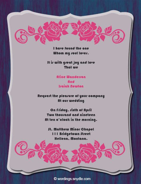 Wedding Wishes Christian by Christian Wedding Invitation Wording Sles Wordings