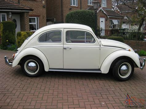 volkswagen white beetle 1963 white vw beetle fully restored