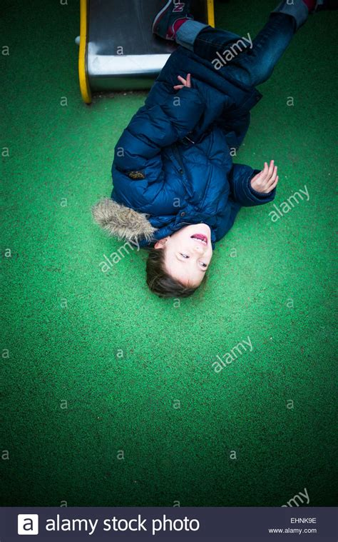 7 year old girl stock photo 7 year old girl in a playground stock photo royalty free