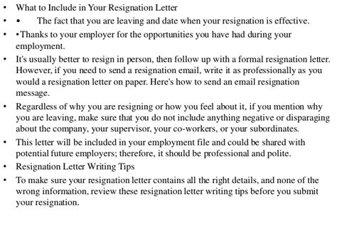 Thank You Letter When Leaving resignation letter