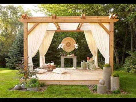 Curtain Drapes Ideas Pergola Curtains Design Ideas Pictures Youtube