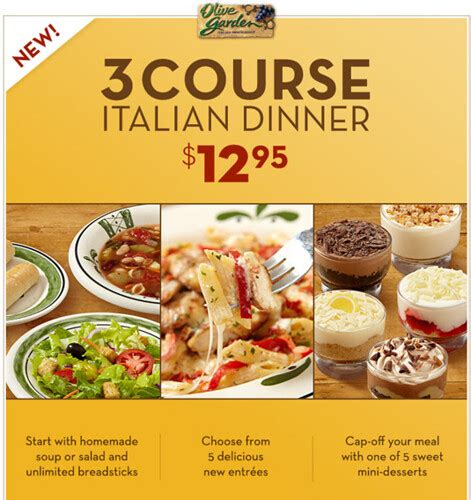 Lunch Specials Olive Garden - special deals at olive garden mission tortillas coupon 2018