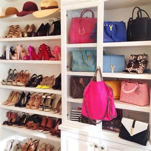 Bag Closet Design by Shelves For Bags Design Ideas